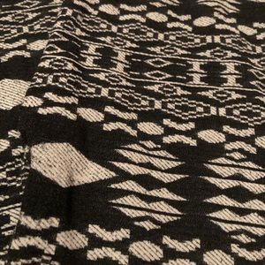 Faded Glory Pants - Set of 2 Leggings Black White Grey Tribal Aztec